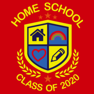 Home School - Class of 2020 - Embroidered Children's Sweatshirt Design