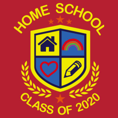 Home School - Class of 2020 - Embroidered Adult Sweatshirt Design