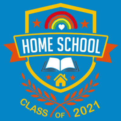Home School - Class of 2021 - Embroidered Children's Sweatshirt Design