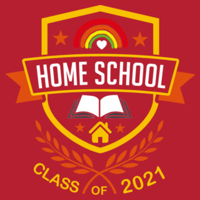 Home School - Class of 2021 - Embroidered Adult Sweatshirt Design